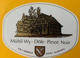 11036 - Dôle Pinot Noir Mühli Wy Vin Du Moulin Suisse - Autres