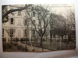 Carte Postale Auxerre (89) La Communauté Et Le Pensionnat Des Ursulines (Petit Format Oblitérée 1905 Timbre 5 Centimes ) - Auxerre