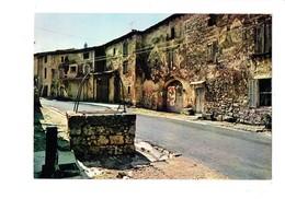 Cpm - 30 - BLAUZAC - Gard - Rue De L'hôtel De Ville - Puits Pompe à Eau - Affiche Spectacle Moto - Sonstige Gemeinden