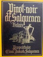 11037 -  Pinot Noir Jakob Cina Salquenen Suisse - Etiquettes
