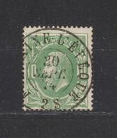 COB 30 Oblitération Centrale Double Cercle FONTAINE-L'EVEQUE Superbe - 1869-1883 Leopold II