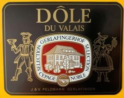 11038 - Dôle Sélection Gerlafingerhof Suisse - Etiquettes