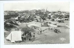 Bray Dunes Les Campings - La Plage ( Lot De 2 Cartes ) - Bray-Dunes