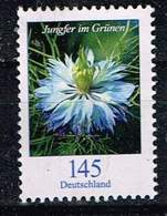 Bund 2018, Michel# 3351 ** Blumen: Jungfer Im Grünen - Unused Stamps
