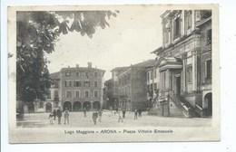 Arona Piazza Vittorio Emanuele - Novara