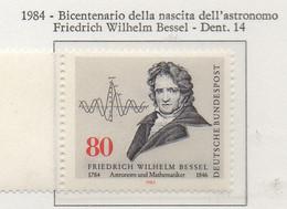 PIA - GER : 1984 : Bicentenario Della Nascita Dell' Astronomo Friedrich Wilelm  Bessel   - (Yv 1048) - Astronomia