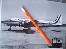 FOTOGRAFIA AEREO DOUGLAS  DC4 AER TURAS    EI-ARS - Aviation