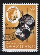 Swaziland Queen Elizabeth 1968 Single ½c Definitive Independence Stamp. - Swaziland (1968-...)