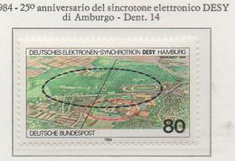 PIA - GER : 1984 : 25° Anniversario Del Sincrotone Elettronico DESY Di Amburgo   - (Yv 1054) - Fisica