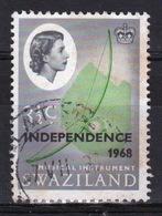 Swaziland Queen Elizabeth 1968 Single 3½c Definitive Independence Stamp. - Swaziland (1968-...)