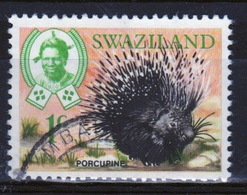 Swaziland Queen Elizabeth 1969 Single 1c Definitive Animals Stamp. - Swaziland (1968-...)