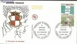 French Andorra 1978 Mi 289 FDC ( FDC ZE1 ANF289 ) - Francobolli
