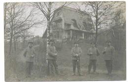 GROENENDAAL  GROENENDAEL   Duitse Bezetting 14/18 Fotokaart Soldatenheim - Hoeilaart
