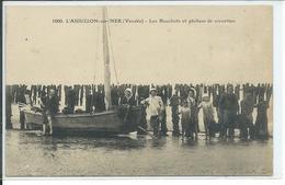 L'Aiguillon-sur-Mer-Les Bouchots Et Pêcheurs De Crevettes - Frankreich