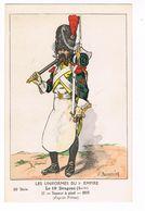 Uniforme.1er Empire. Sapeur à Pied.1805. Boisselier.  (79) - Uniformen