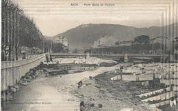 CPA  658 - NICE Pont Baila Et Paillon -  Animations- - Monuments