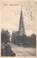Cartolina Bonn Evangel Kirche Anni '10 Damaged - Cartoline