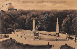 Cartolina Carlottenburg Kaise Friedrich Denkmal Luisenplatz 1912 - Cartoline