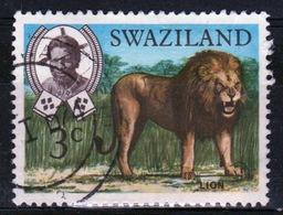 Swaziland Queen Elizabeth 1969 Single 3c Definitive Animals Stamp. - Swaziland (1968-...)