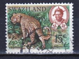 Swaziland Queen Elizabeth 1969 Single 15c Definitive Animals Stamp. - Swaziland (1968-...)