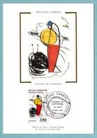 Carte Maximum 1991 - Roland Garros 1991 - Tournoi Centenaire - YT 2699 - Paris - Maximum Cards