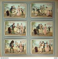 Chromo LIEBIG-S 334-LE CHARBONNIER Et L'ANGLAIS-(série)-1892 - Liebig