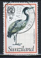 Swaziland Queen Elizabeth 1976 Single 5c Definitive Bird Stamp. - Swaziland (1968-...)