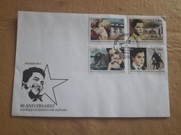 Cuba FDC 80e Anniversaire De La Naissance D'Ernesto Che Guevara - FDC