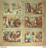 Chromo LIEBIG-S 484-SCÈNES De NOËL-(série)-1896 - Liebig