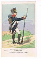 Uniforme.1er Empire. Fusilier.Grande Tenue 1807. Boisselier.  (97) - Uniforms