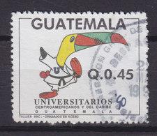 Guatemala 1990 Mi. 1313     0.45 Q Zentralamerikanische Und Karibische Universitätssportspiele Karate Bird Vogel Oiseau - Guatemala