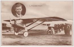 AVIATION SPIRITE OF SAINT LOUIS LINDBERGH - Aviateurs
