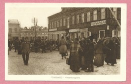Lituanie - PONIEWIEZ - Hindenburgplatz - Feldpost - Guerre 14/18 - Litauen