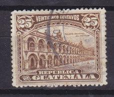 Guatemala 1922 Mi. 190     25c. Regierungsgebäude In Antigua Waterlow & Sons Ltd., London - Guatemala