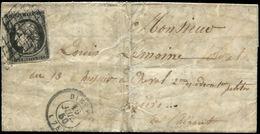 PRISONNIER DE GUERRE : 1871 ALTONA Sur Env. D'un Prisonnier Pour TURIN Taxée Et Réexpédiée à CHAMBERY Avec ITALIE Paire  - Marcophilie (Lettres)
