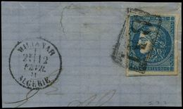 """1863 """"17"""" Tax Marking On Entire Letter Datelined """"NEU MEHLEM"""" To PRUSSIA. Verso, SEEBRIEF PER ENGLAND UND AACHEN In Red. - Uruguay"""