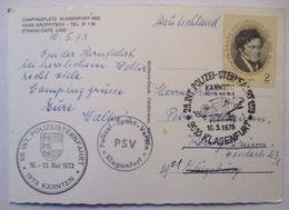 Polizei Sportverein Klagenfurt, Sternfahrt Kärnten 1973 (31163) - 1945-.... 2. Republik