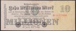 Reichsbanknote Zehn Millionen Mark, Ausgabe 25. Juli 1923, Serie B - [ 3] 1918-1933: Weimarrepubliek