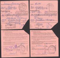 DDR Postintern Postanweisung, Poststellenst. Neuruppin Gildenhall Gnewikow 1981 - [6] República Democrática