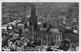 Cartolina Koln A. Rh. Dom Und Hauptbahnhof 1936 - Cartoline