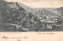 Cartolina Heidelberg Gruss Aus - Cartoline