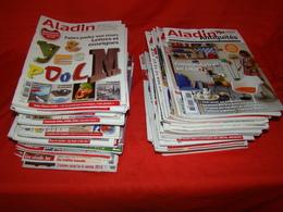 """Lot De 80 Magazines """" ALADIN """" Du N°287 ( Septembre 2012 ) Au N°366 ( Juin 2019 ) - Magazines: Subscriptions"""