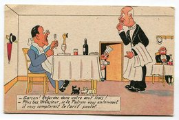 CPA  Illustrateur : Humour  Tarif Poulet  A  VOIR  !!!!!! - Illustrateurs & Photographes