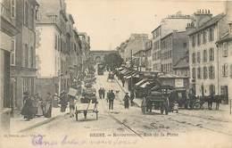 CPA 29 Finistère Brest Recouvrance Rue De La Porte - Brest
