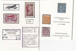 GRAND LIBAN  - LOT DE TIMBRES / 2 - Great Lebanon (1924-1945)
