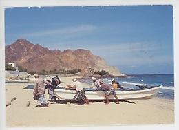 Asie : Sultanate Of Oman, Fisherman Al-Bustan Beach - Oman