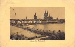 Cartolina Koln Totalansich 1912 - Cartoline