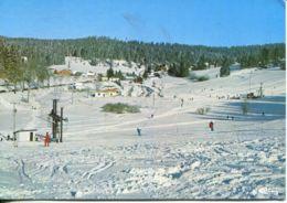N°74786 GF -cpsm Les Hopitaux Neufs -staton De Sports D'hiver- - France