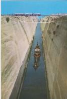 Grèce, Carte Postale Corinthe, Le Canal. - Grèce