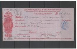 FR CHEQUE CNEP 1905 - Chèques & Chèques De Voyage